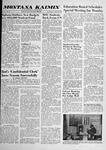 Montana Kaimin, April 30, 1958