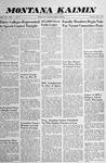 Montana Kaimin, May 1, 1958