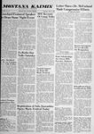 Montana Kaimin, May 8, 1958