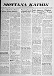 Montana Kaimin, May 13, 1958