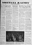 Montana Kaimin, May 15, 1958