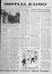 Montana Kaimin, May 16, 1958