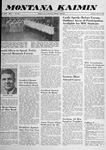 Montana Kaimin, May 27, 1958