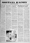 Montana Kaimin, May 29, 1958