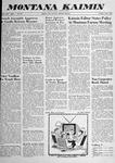 Montana Kaimin, June 3, 1958