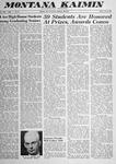 Montana Kaimin, June 6, 1958