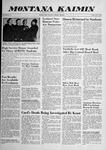Montana Kaimin, October 3, 1958