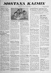 Montana Kaimin, October 8, 1958