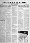 Montana Kaimin, October 21, 1958