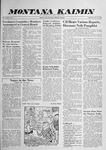 Montana Kaimin, November 20, 1958