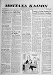 Montana Kaimin, December 5, 1958