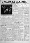 Montana Kaimin, January 27, 1959