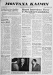 Montana Kaimin, February 10, 1959