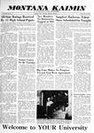 Montana Kaimin, May 22, 1959