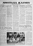 Montana Kaimin, May 27, 1959