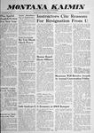 Montana Kaimin, May 29, 1959