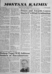 Montana Kaimin, June 5, 1959