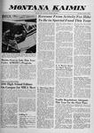 Montana Kaimin, October 8, 1959