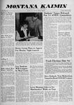 Montana Kaimin, October 16, 1959