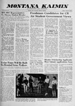 Montana Kaimin, October 23, 1959