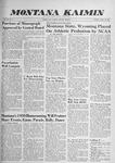 Montana Kaimin, October 29, 1959
