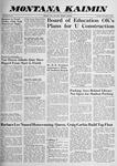 Montana Kaimin, November 3, 1959