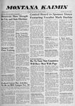 Montana Kaimin, November 5, 1959