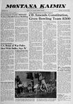 Montana Kaimin, November 12, 1959