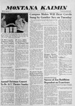 Montana Kaimin, December 8, 1959