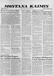 Montana Kaimin, December 10, 1959