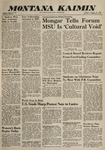 Montana Kaimin, January 12, 1960