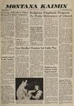 Montana Kaimin, January 15, 1960