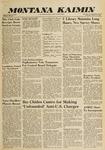 Montana Kaimin, January 27, 1960