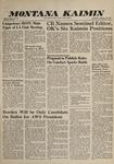 Montana Kaimin, February 25, 1960