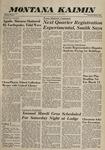 Montana Kaimin, March 2, 1960