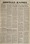 Montana Kaimin, March 3, 1960