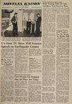 Montana Kaimin, March 9, 1960