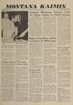 Montana Kaimin, April 1, 1960