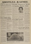 Montana Kaimin, April 15, 1960