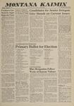 Montana Kaimin, April 27, 1960