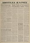 Montana Kaimin, May 10, 1960
