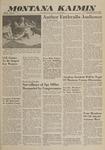 Montana Kaimin, May 11, 1960