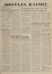 Montana Kaimin, May 12, 1960