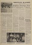 Montana Kaimin, May 18, 1960