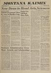 Montana Kaimin, May 27, 1960