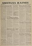 Montana Kaimin, June 1, 1960