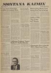Montana Kaimin, September 29, 1960