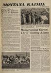 Montana Kaimin, October 4, 1960