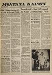 Montana Kaimin, October 5, 1960