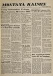 Montana Kaimin, October 11, 1960